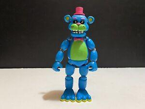 "Rare Funko Five Nights At Freddy's Blacklight Freddy 5"" Action Figure No Mike"