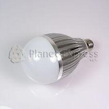 Bombilla 12W LED esferica E27 Blanco Frio 220V 960 lumen Bajo Consumo eqv.120W