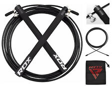 RDX Professional 3000mm Speed Rope Skipping Jump Gym Fitness MMA Boxing UFC Bag Black