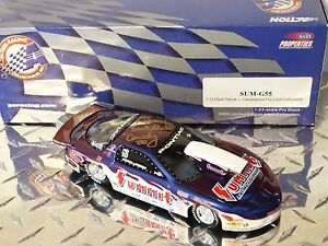 Action 1999 Mark Pawuk Signed Summit NHRA Pro Stock 1:24 Scale Diecast Car