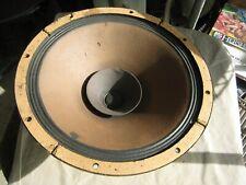 "Norelco AD 5277M 12"" full range speaker Whizzer cone"