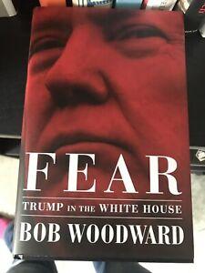 Bob Woodward Fear: Trump In The White House Hardback 1st Print