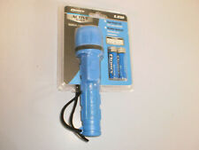 Dorcy LED Flashlight Active Series Rubber Water Resistant 2AA Blue New