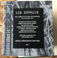 """Led Zeppelin """"The Complete Studio Recordings""""(Sep-1993,10 CD) Box Set Collection"""