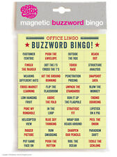Magnetic Words Phrases Funny Rude Comedy Humour Office Lingo Buzzword Bingo