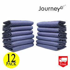 "12pcs Moving Blankets 80"" x 72"" Pro Economy Quilted Shipping Furniture Pads Mats"