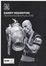 * DANNY HOUGHTON (HULL FC ) TESTIMONIAL BROCHURE 2018 *