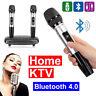 Home Portable Wireless Bluetooth Karaoke Machine Speaker 2X Wireless Microphone
