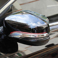 Chrome Side Mirror Rearview Mirrors Cover Molding Trims for Accord MK9 2013-2015