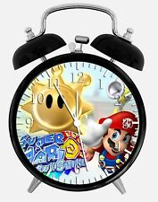"Super Mario Bros. Alarm Desk Clock 3.75"" Home or Office Decor W120 Nice For Gift"