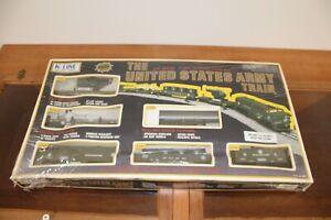K-line K-1911 The United States .Army Train Set 0 027 1990's LNIB