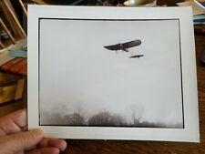"GLASS PLATE NEG ""The Scout"" Plane in flight RARE 8.5""x10"" KODAK FRAMEABLE PRINT"