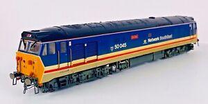 HORNBY 00 GAUGE - R2350 - CLASS 50 DIESEL NETWORK SOUTHEAST ACHILLES 50045