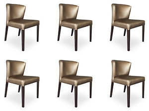 6x Chairs Chair Pads Design Lehn Set Armchair Complete Modern Set New