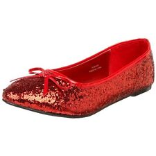 PleaserUSA Pleaser Shoes - Women Adult  Glitter Star Flat- Pick SZ/Color.