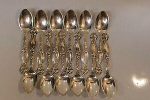 "Antique Art Nouveau "" Frontenac "" by International  1904 Tea spoon 6"" No-Mono's"