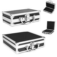 S/M Aluminium Koffer Werkzeug Kiste Münzkoffer Alukoffer Kasten Aufbewahrungsbox