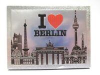 Berlin Laser Magnet  8 cm Souvenir Germany Brandenburger Tor I love