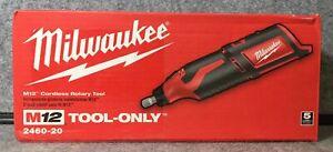 ~Milwaukee 2460-20 M12 Li-Ion Rotary Tool Cordless 12V (Tool Only)
