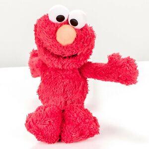 "Elmo Plush 9"" Red Small Fuzzy Sesame Street Stuffed Animal Toy"