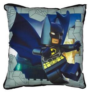 LEGO Batman kapow Canvas Square Cushion, Polyester Double Sided