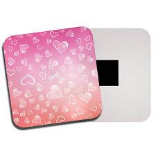 Love Heart Scribbles Fridge Magnet - Pink Cute Girls Wife Girlfriend Gift #8754