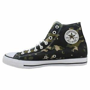 Converse Chuck Taylor All Star Hi Men's Size 11 Shoes Black/Khaki/White 165915C