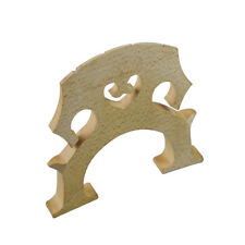 4/4 Cello Maple Bridge Fitted Polished String Parts Fitting Can be Use Directly