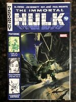 IMMORTAL HULK #4 MARVEL COMICS 2018 DIRECTORS CUT AL EWING JOE BENNETT VF+