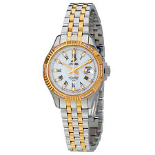 Enicar Prestige White Dial Automatic Ladies Watch 778/50/329GS