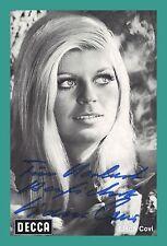 LIANE COVI | Sängerin | Original-Autogramm auf DECCA-Autogrammkarte