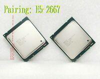 a pair Intel  E5-2667 (SR0KP) 2.9GHz /15MB / QPI 8GT/s  2011 Server Processor