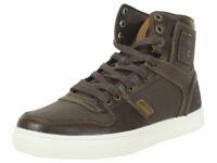 Levi's Men's Mason-Hi-501-Nappa Brown Levis Sneakers Shoes