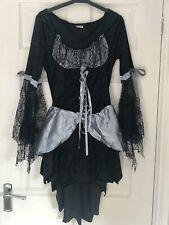 Sexy Disfraz De Halloween Bruja Fantasía Vestido Talla Única