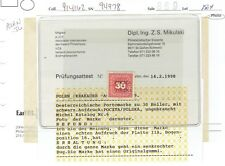 POLAND   - CRACOW  1919    ONLY   270  STAMPS  WAS  ISSUE   ,,VERY  RARE ''