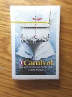 Carnival Most Popular Cruise Line in the World Vintage Unopened Box of Cards