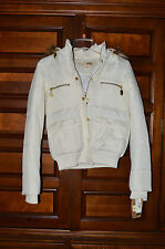 CREAM COLORED WOMEN/GIRLS FAUX FUR JACKET