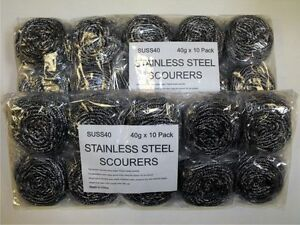 20 Stainless Steel Professional Heavy Duty Scourers Extra Large Catering BBQ Pot