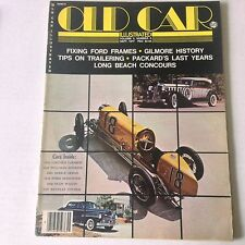 Old Car Illustrated Magazine Lincoln LeBaron Pullman September 1977 060117nonrh2