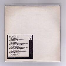MARVIN GAYE & THE JACKSON 5 Promo Cd Maxi MOTOWN MIXES 5 tracks  2005 / 17
