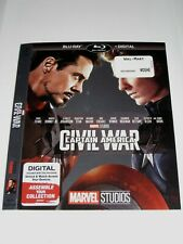 Captain America Civil war (Blu Ray slip cover only) No Disc No Blu Ray