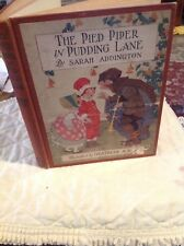 Sarah Addington / Illustrated by / PIED PIPER IN PUDDING LANE 1st ed #272182