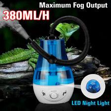 110V 3L Amphibians Reptile Maker Humidifier Adjustable Hose Ultra-silent Blue