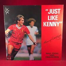 """MAD JOCKS & ENGLISHMEN Just Like Kenny. Kenny Dalglish 1984 UK 12"""" vinyl Single"""