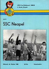 EC III 88/89 1. FC Lok Leipzig - SSC Neapel / Napoli, 26.10.1988