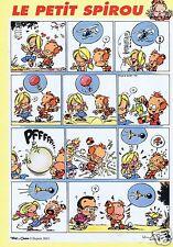 Publicité Advertising 066 2001 Le Petit Spirou 365 Tome & Janry  Dupuis