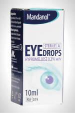 Hypromellose Eye Drops 0.3% For Dry Eyes | 3 x 10ml | UK PHARMACY STOCK