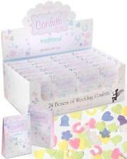 Traditionnel mariage papier confettis x24 paquets