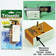 Foreign Travel Converter 1600 W Watt - Ac Voltage Step Down Power Adapter Conver