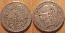 5 Francs Lavrillier en aluminium 1952, Assez rare !!